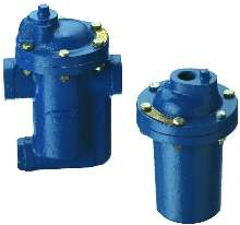 Mechanical Steam Traps are suited for process equipment.