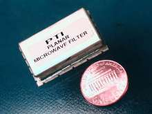Planar Microwave Filters range from 1-18 GHz.