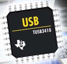 Bridge provides USB-to-serial connectivity.