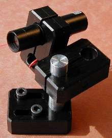 Laser Module Mounting Brackets facilitate positioning.