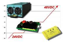 DC/DC Converters integrate 48 V with 24 V legacy systems.