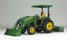 Utility Tractors offer automotive-style control center.