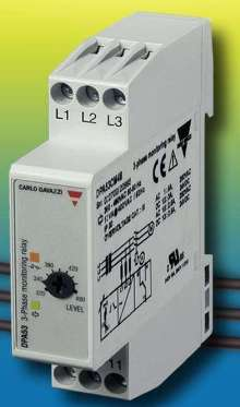 Phase Monitoring Relay has compact housing.