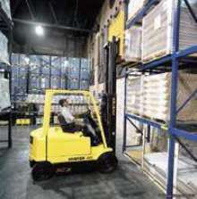 Lift Trucks feature 80 V electrical system.