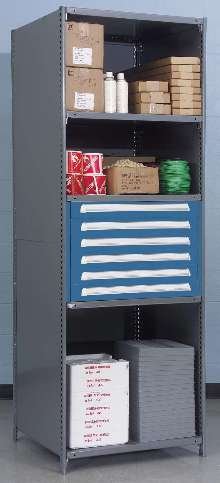 Storage Solution offers modular, ergonomic construction.