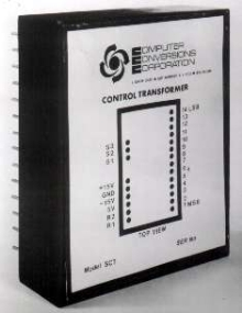 Converters provide digital control of analog servo systems.