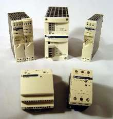 DC Power Supplies feature compact enclosures.