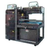 Sealing Machine processes 45 packages/min.