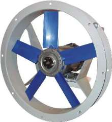 Flange Fan offers capacities to 34,000 cfm.