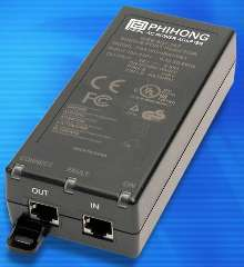 Single Port Injector suits Power-over-Ethernet applications.