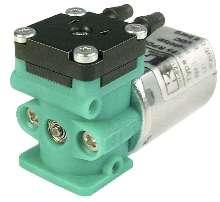 Diaphragm Pump processes liquid and liquid/gas mixtures.