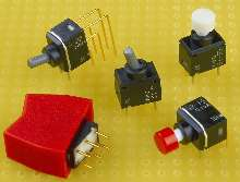 Switches provide logic level switching reliability.