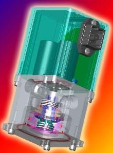 Electronic Pressure Regulator delivers high relief flow.