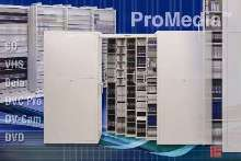 Media Storage Systems provide security and save floor space.
