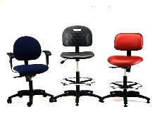 Industrial Seats are for factories, labs or offices.