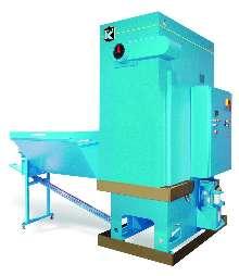 Compactors process ferrous and non-ferrous metals.