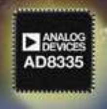Variable Gain Amplifier targets medical ultrasound systems.