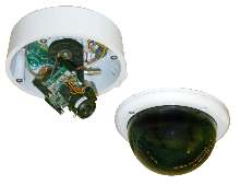 Vandal-Resistant Cameras offer day/night capabilities.