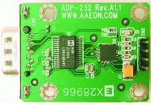USB to RS232 Adapter is USB bus powered.