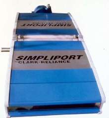 Illuminator provides drum level indication.