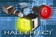 Hall-Effect Switches feature integrated digital circuitry.