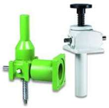 Screw Jacks are available in standard metric sizes.