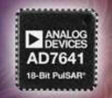 Data Converters deliver 18- and 20-bit resolution.