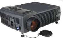 Projector is designed for portability.
