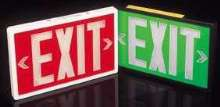 Self-Luminous Exit Signs are environmentally friendly.
