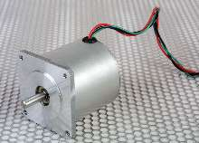 Brushless DC Motor provides low voltage operation.
