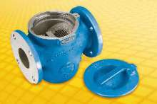Strainers protect pumping systems.