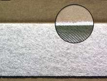 Oil Skimming Belt has textured surface to facilitate clean-up.