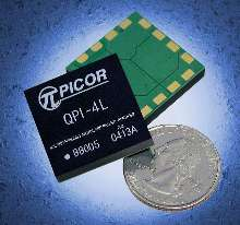 Active EMI Filter targets 48 V dc-dc converter applications.