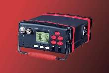 Portable Gas Chromatograph detects and measures VOCs.