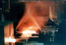 Forging Lubricant wets dies up to 1,300°F.