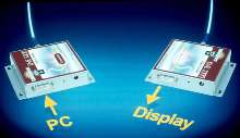 Fiber-Optic Converters send video signals up to 3,300 ft.