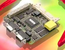 PC/104-Plus Module incorporates PowerPC.