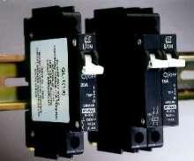 Miniature Circuit Breakers measure only 1/2 in. wide.