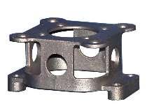Mounting Bracket offers alternative to bent-plate brackets.