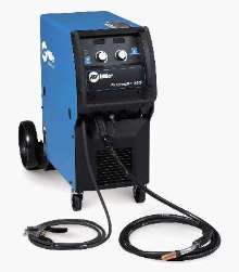 Power Sources provide pulsed MIG welding.