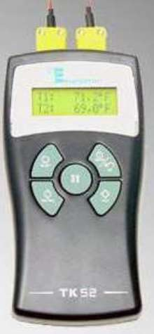 Differential Digital Thermometer suits HVAC industry.