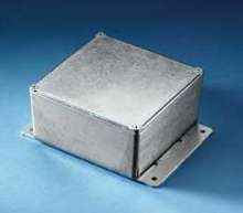 Equipment Box mounts with external flanges.