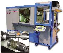 Gear-Grinding Machine offers 8 axes of CNC control.