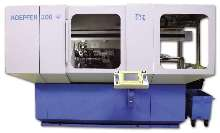 Gear Hobbing Machine offers 8 axes of CNC control.