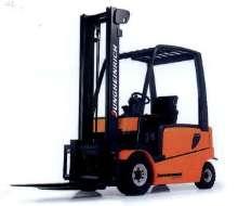 Lift Trucks handle loads up to 10,000 lb.