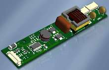 DC-AC Inverter powers dual-lamp, backlit LCDs.