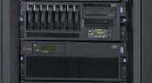 Server comes in deskside or rack mount version.