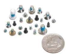 Miniature Self-Locking Fasteners offer vibration resistance.