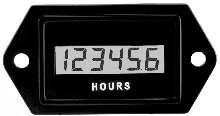 LCD Hour Meter/Counter handles harsh environments.