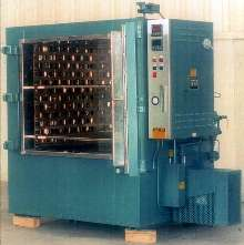 Inert Atmosphere Oven is electrically heated to 500°F.